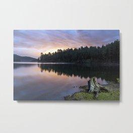 Lake Pactola Sunset Afterburn Metal Print