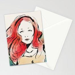 Orange Head Stationery Cards