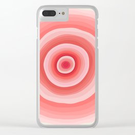 Circle Clear iPhone Case