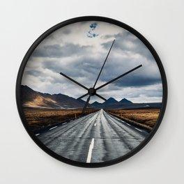 Ring Road Wall Clock