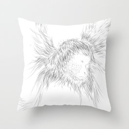 The Animals - weird, unpolished and ugly as we are #1 Throw Pillow