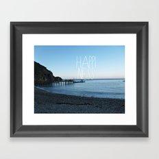 HAPPI-NESS Framed Art Print