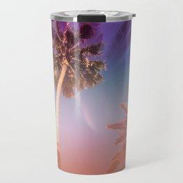 Palm Trees Kissing the Sky Travel Mug