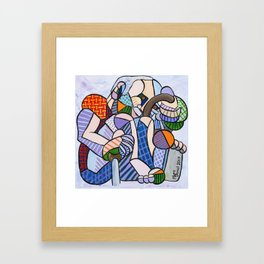 Driver Framed Art Print