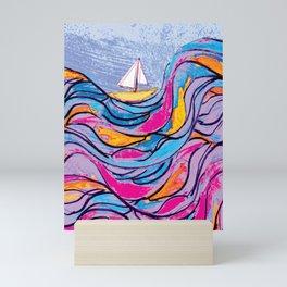 Sailing 3 Mini Art Print