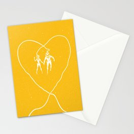 Love Space, Yellow Stationery Cards