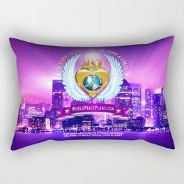 Study Peace, Love & Unity Rectangular Pillow