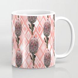 Protea Floral Print - Australian Native Flowers Coffee Mug
