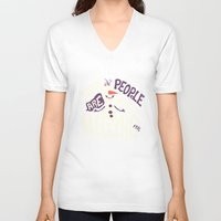 risa rodil V-neck T-shirts featuring Worth melting for by Risa Rodil