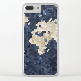 Shattered world Clear iPhone Case