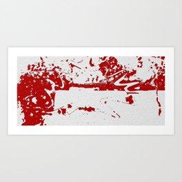 Wall Of Curses Art Print
