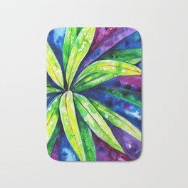 Croton - Tropical Leaves Bath Mat