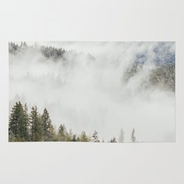 Mountain, Nature Photography, Wanderlust Rug