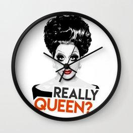 """Really, Queen?"" Bianca Del Rio, RuPaul's Drag Race Queen Wall Clock"