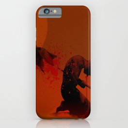 Seppuku ( Hara Kiri) The liberation of the spirit of the samurai iPhone Case