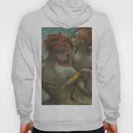 "Edgar Degas ""Two dancers - half-length"" Hoody"