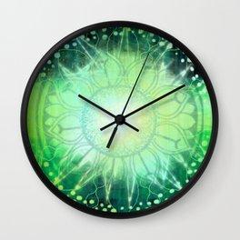 Anahata - Chakra 4 Wall Clock