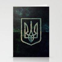ukraine Stationery Cards featuring Ukraine by rudziox