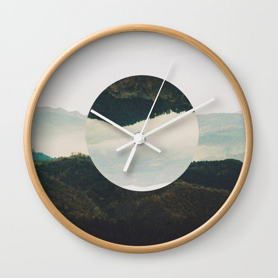 Up side down Wall Clock