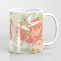 party Mugs featuring garden party by Teagan White