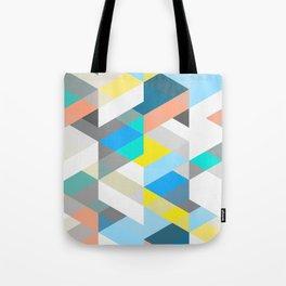 Bold Halequin Tote Bag