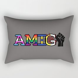 Amiga + Amigo Rectangular Pillow