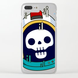 Space Death Clear iPhone Case