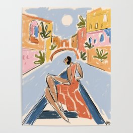 Gondola ride Poster