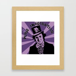 Willy Wonka's Pure Imagination Framed Art Print
