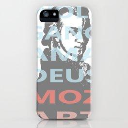 Wolfgang Amadeus Mozart iPhone Case