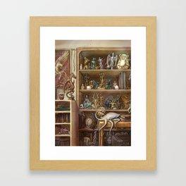 Chimaera Shelf Framed Art Print
