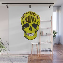 Fortune Favours The Brave. Wall Mural