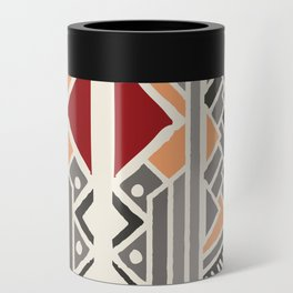 Tribal ethnic geometric pattern 034 Can Cooler