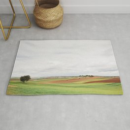 Countryside Landscape Rug