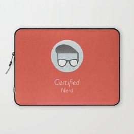 Certified Nerd Laptop Sleeve