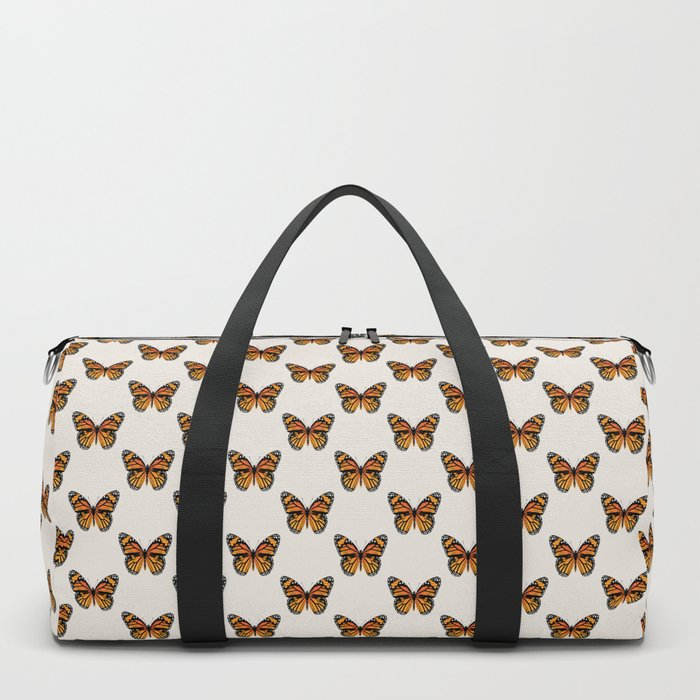Monarch Butterfly | Vintage Butterfly | Duffle Bag