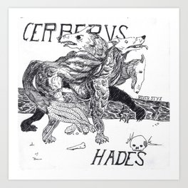 CERBERVS Art Print
