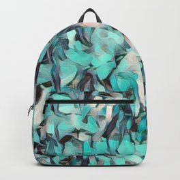 Confetti Caribbean Aqua Backpack