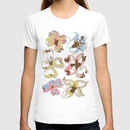 Silk Screen Floral T-shirt