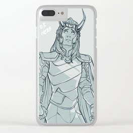 Your savior is here Clear iPhone Case