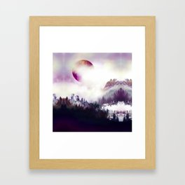 From Sky To Roots Framed Art Print