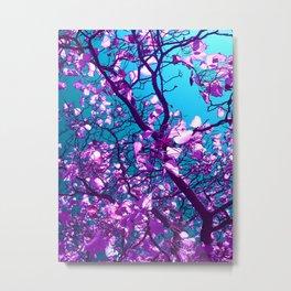 purple tree XXIV Metal Print