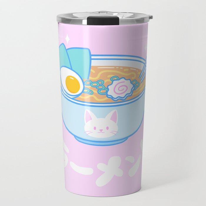 Cute Ramen Travel Mug