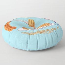 Pancake Mandala Floor Pillow