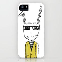 Mr. Rabbit iPhone Case