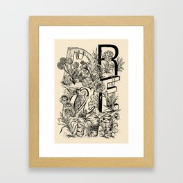 """DRAEM"" Dream Framed Art Print"