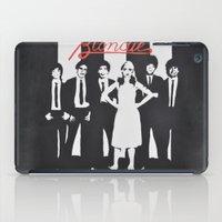 blondie iPad Cases featuring Blondie Stencil by Michellehill