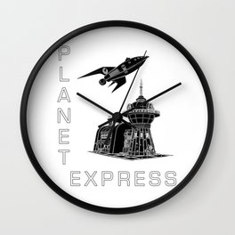 Corporate Delivery Wall Clock