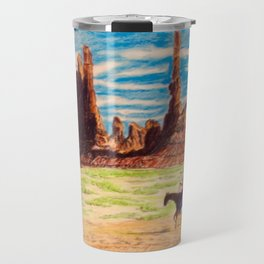 Southwest Native Americans Travel Mug