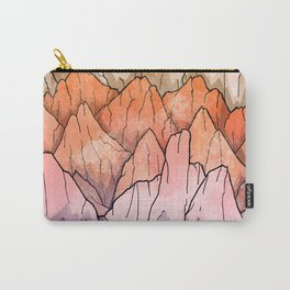 The mountain peaks Carry-All Pouch